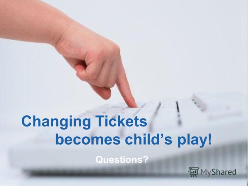 © 2008 Amadeus IT Group SA 21 Changing Tickets becomes childs play! Questions?