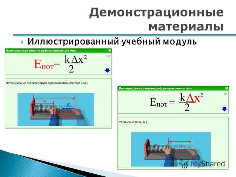 Иллюстрированный учебный модуль
