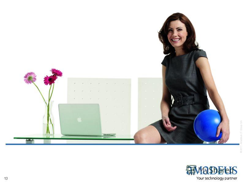 © 2011 Amadeus IT Group SA 13