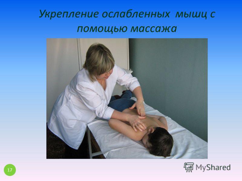 Укрепление ослабленных мышц с помощью массажа 17