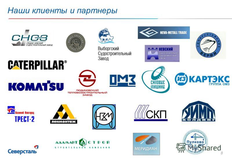 8 Наши клиенты и партнеры