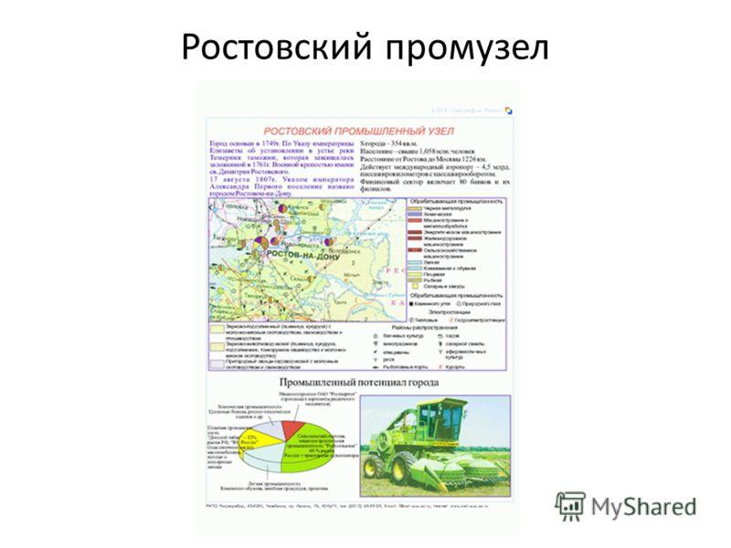 Ростовский промузел
