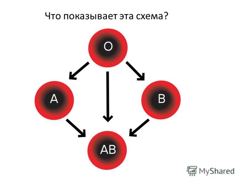 Что показывает эта схема?