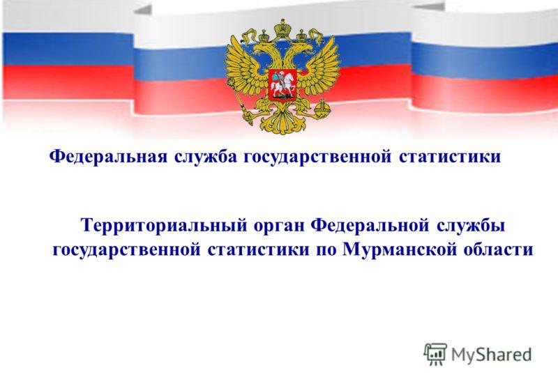 Федеральная служба государственной статистики Территориальный орган Федеральной службы государственной статистики по Мурманской области
