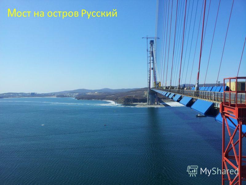 М ост на остров Русский