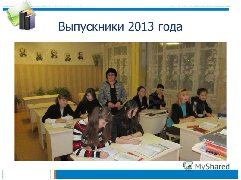 Выпускники 2013 года