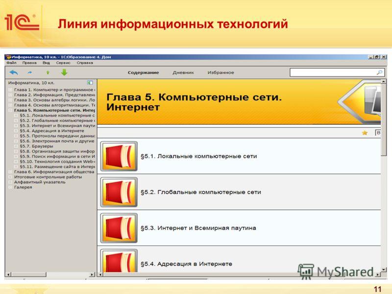 11 Линия информационных технологий