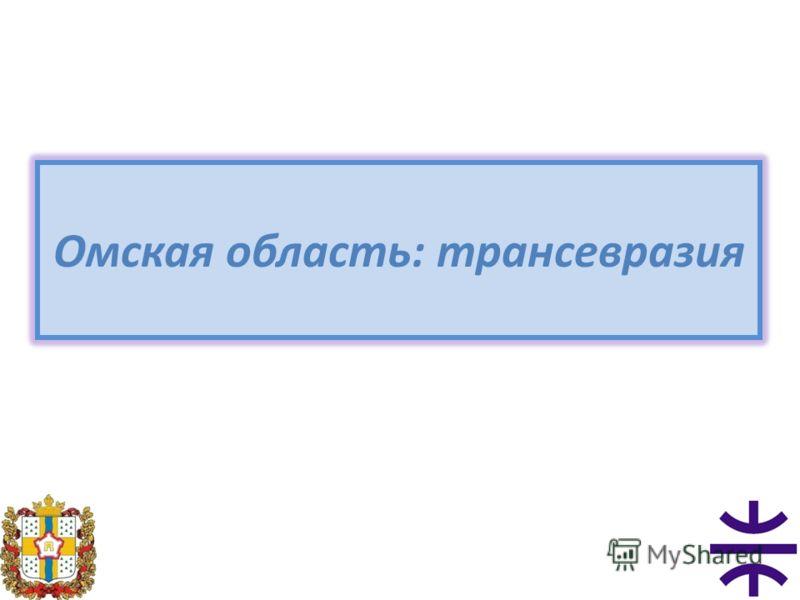 Омская область: трансевразия
