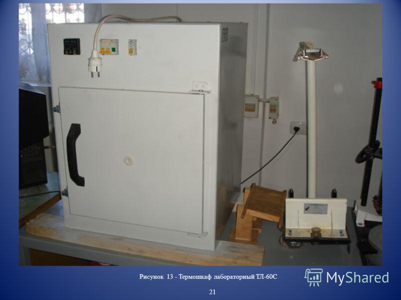 Рисунок 13 - Термошкаф лабораторный ТЛ-60С 21