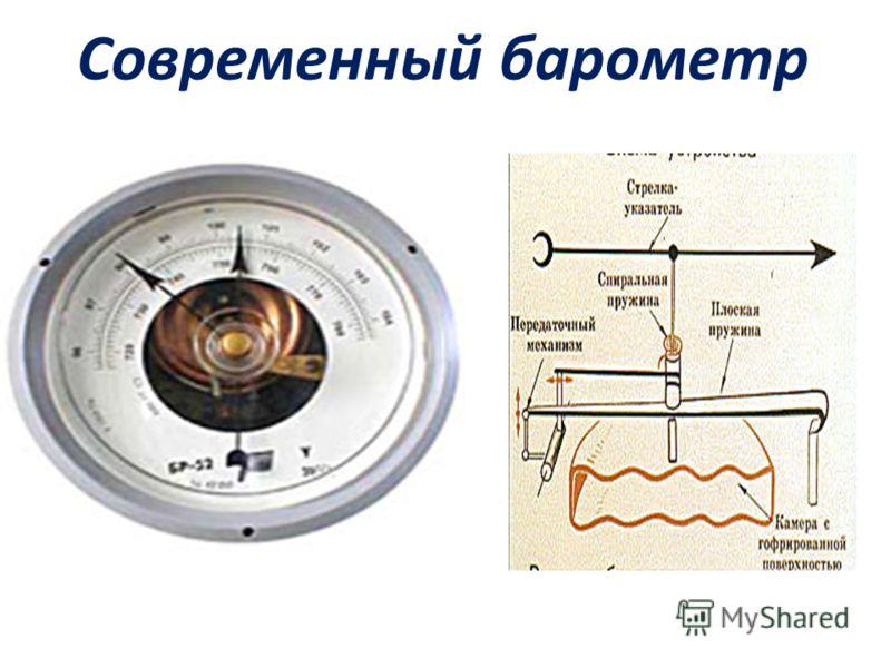 Современный барометр