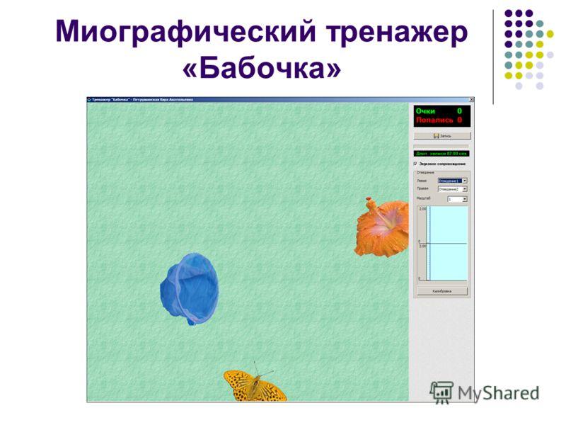 Миографический тренажер «Бабочка»