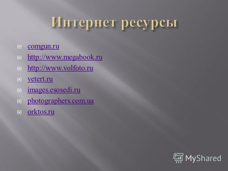 comgun.ru http://www.megabook.ru http://www.volfoto.ru vetert.ru images.esosedi.ru photographers.com.ua orktos.ru