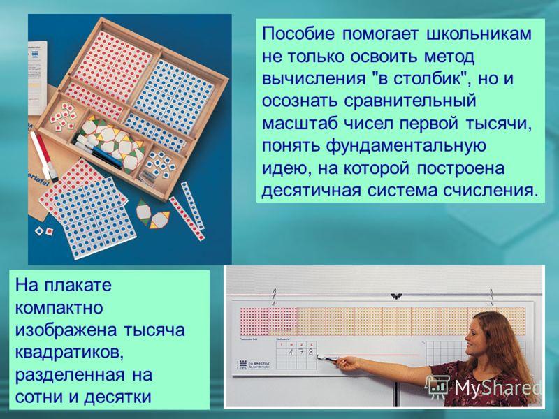 Пособие помогает школьникам не только освоить метод вычисления