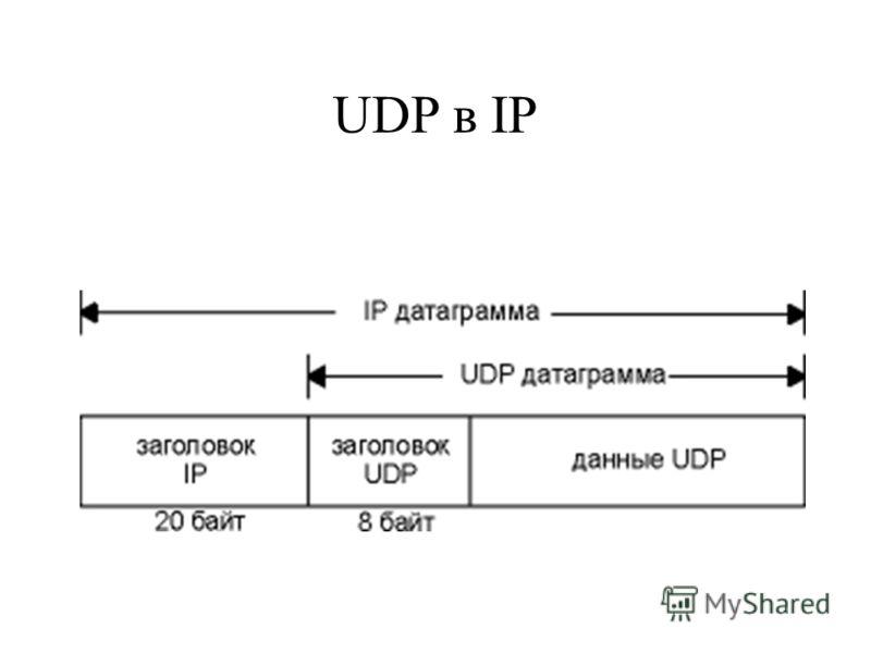 UDP в IP