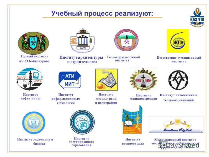 Институт нефти и газа горный институт