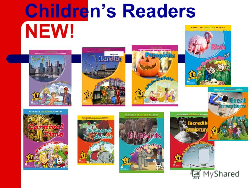 Childrens Readers NEW!