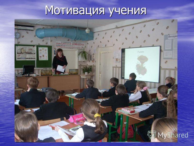 Мотивация учения