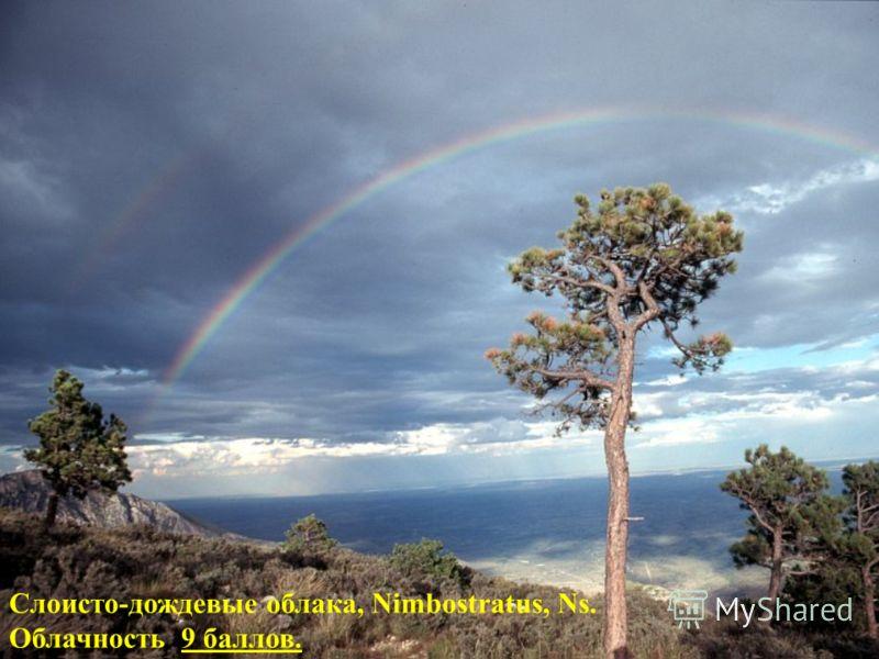 Слоисто-дождевые облака, Nimbostratus, Ns. Облачность 9 баллов.9 баллов.