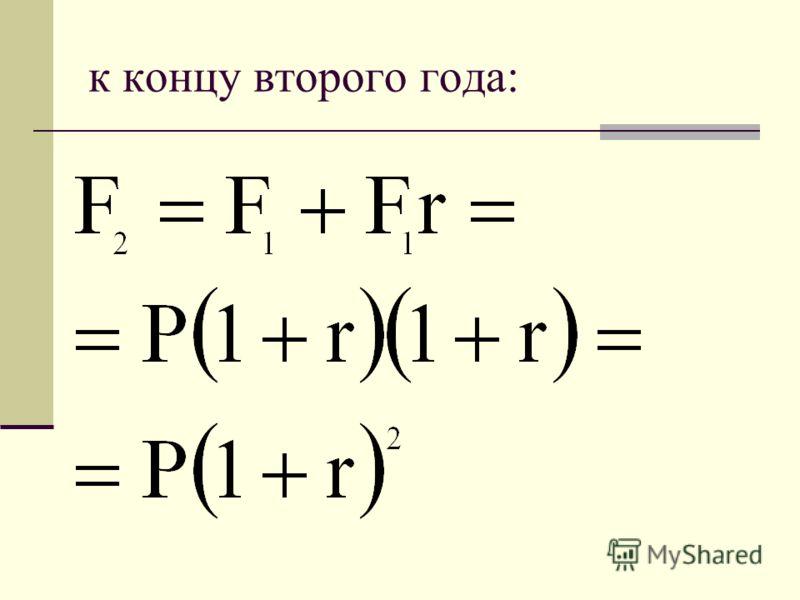 схема сложных процентов предполагает или нет капитализацию процентов