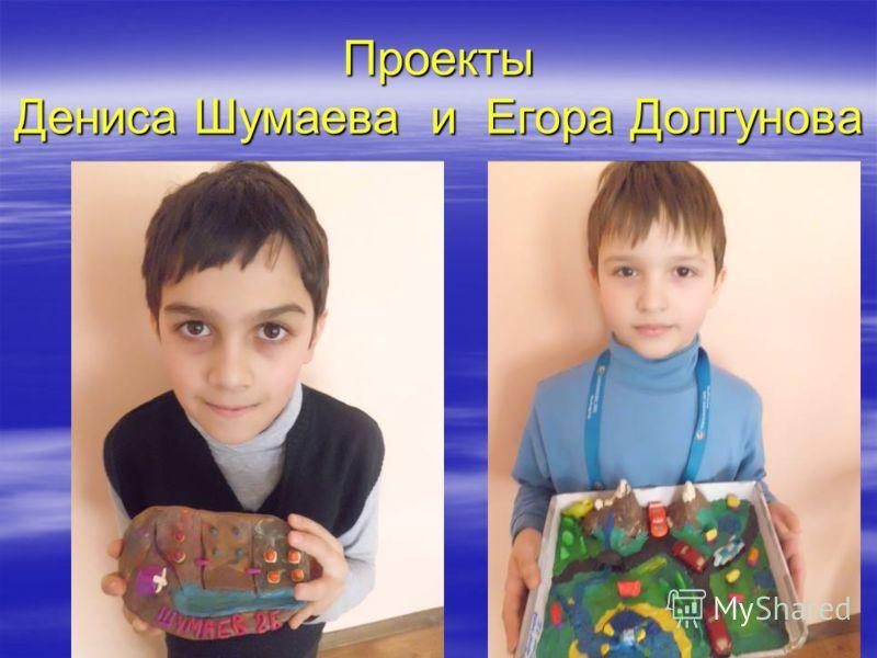 Проекты Дениса Шумаева и Егора Долгунова