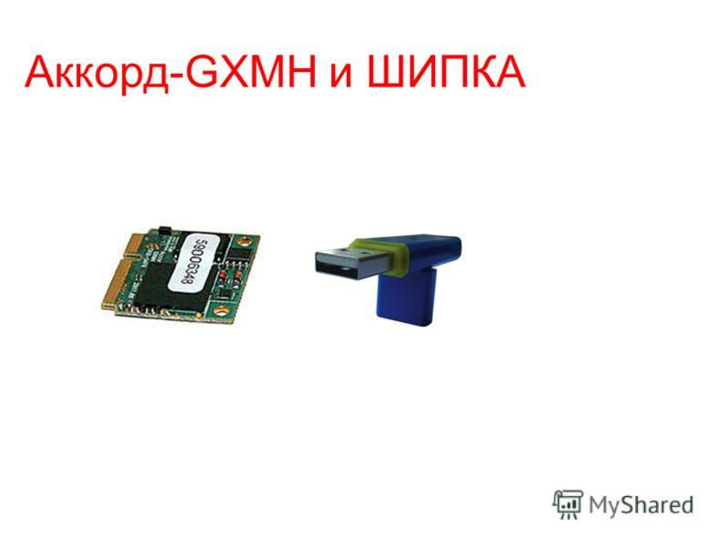 Аккорд-GXMH и ШИПКА