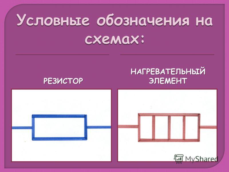 РЕЗИСТОР НАГРЕВАТЕЛЬНЫЙ ЭЛЕМЕНТ