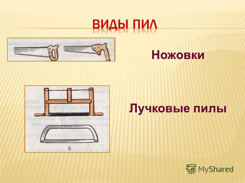 Ножовки Лучковые пилы