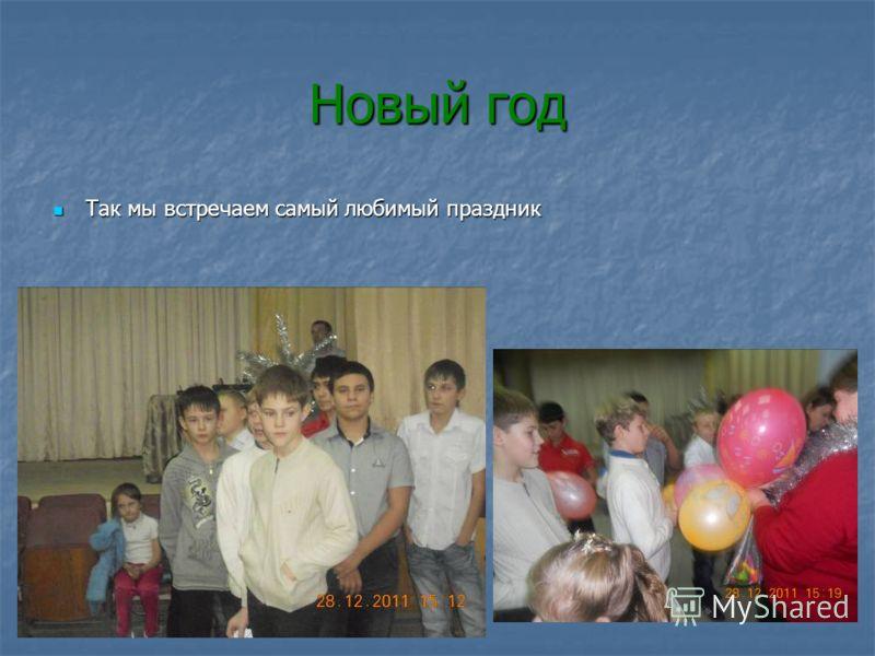 Новый год Так мы встречаем самый любимый праздник Так мы встречаем самый любимый праздник