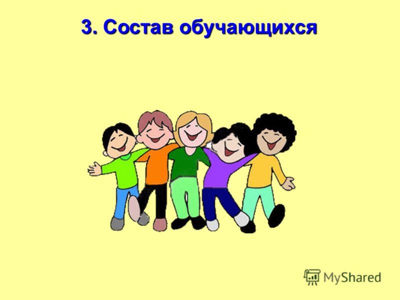 3. Состав обучающихся