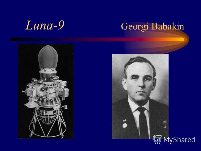 Luna-9 Georgi Babakin