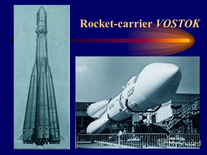 Rocket-carrier VOSTOK