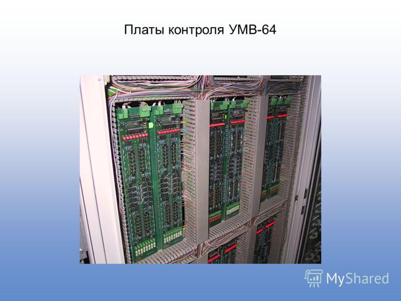 Платы контроля УМВ-64