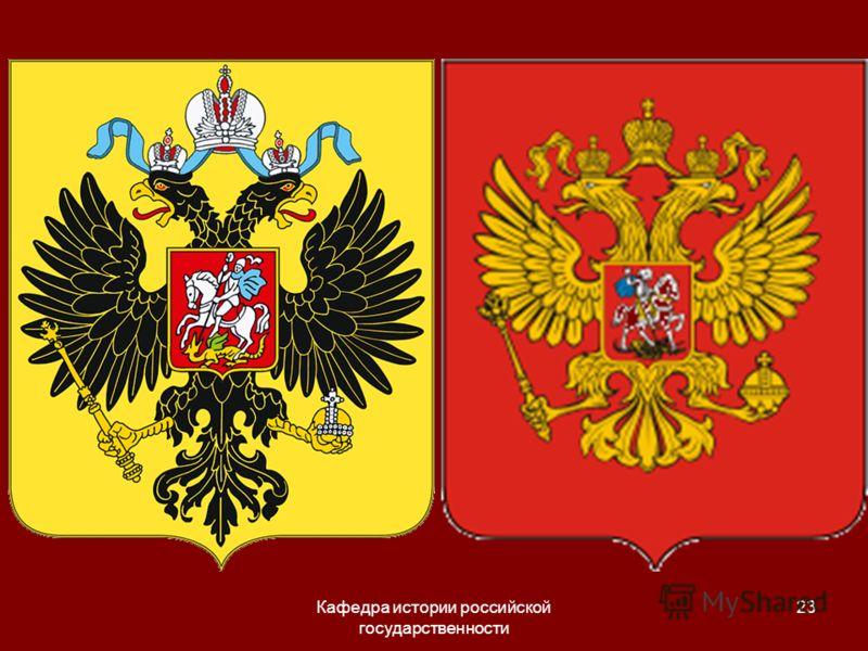 Кафедра истории российской государственности 23
