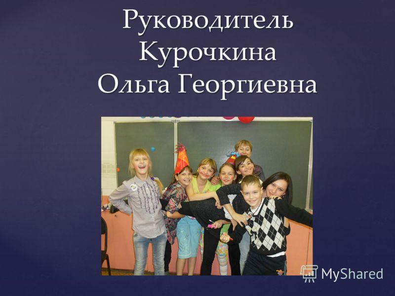 Руководитель Курочкина Ольга Георгиевна