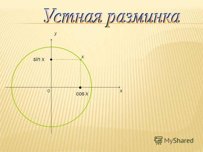 0 x y cos x sin x x