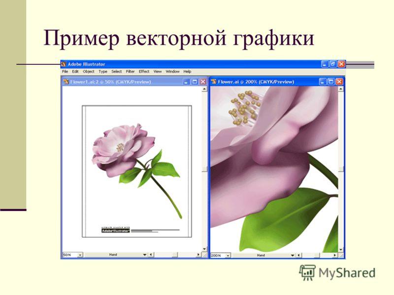 Пример векторной графики