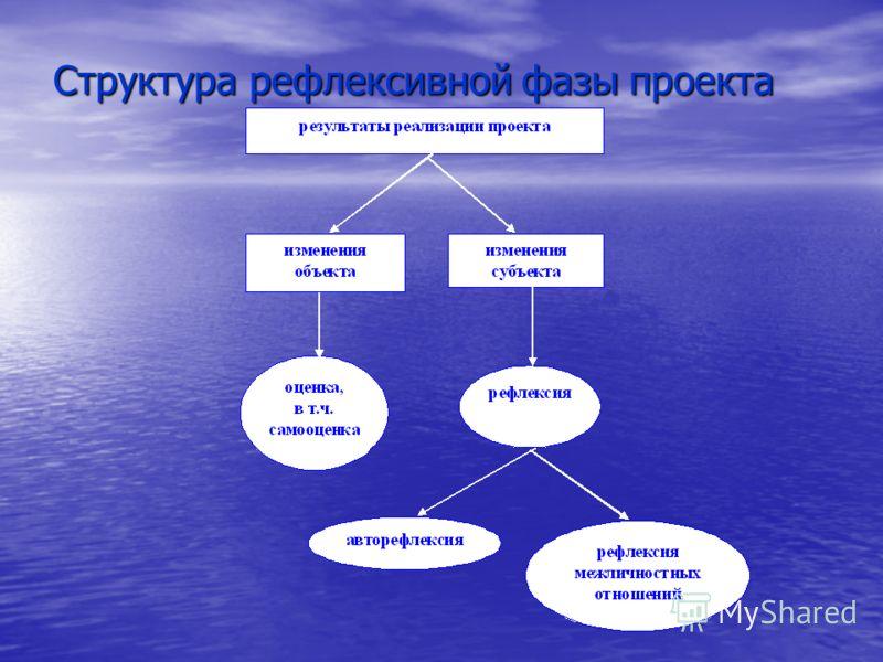 Структура рефлексивной фазы проекта