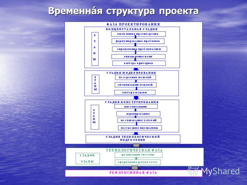 Временнáя структура проекта