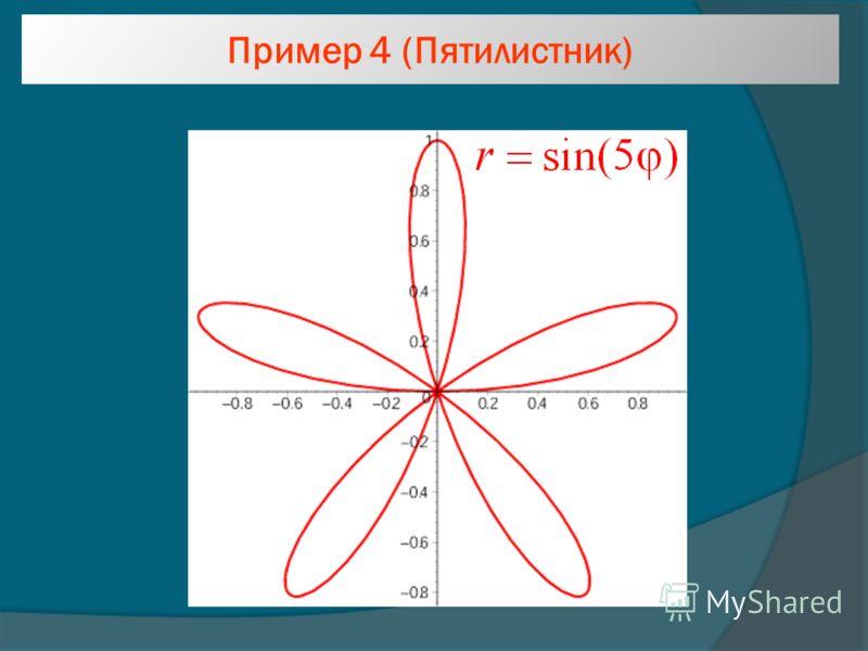 Пример 4 (Пятилистник)
