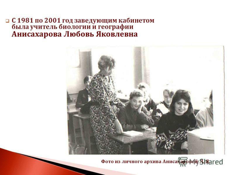 По непроверенным данным с 1977 года кабинет 51 был кабинетом химии, что подтверждает ряд фотографий этого кабинета с сайта Печорской гимназии.