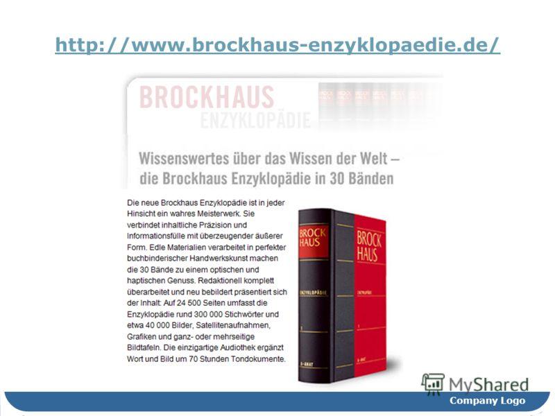 Company Logo http://www.brockhaus-enzyklopaedie.de/