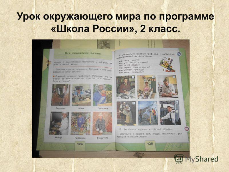 Урок окружающего мира по программе «Школа России», 2 класс.