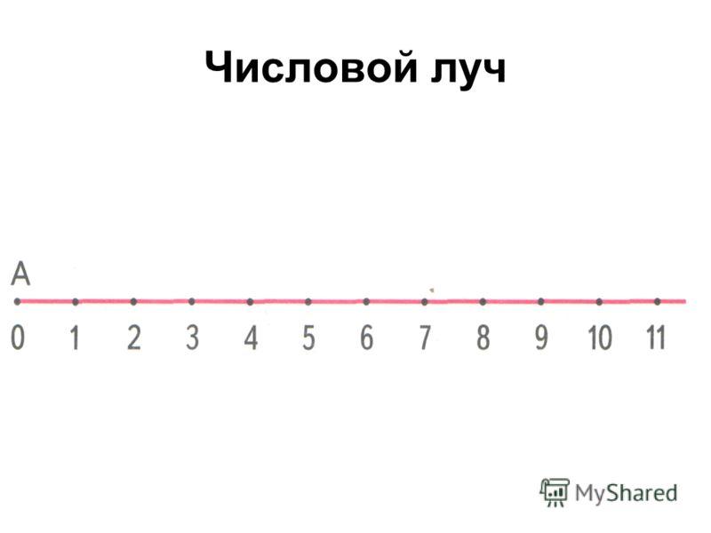 Числовой луч