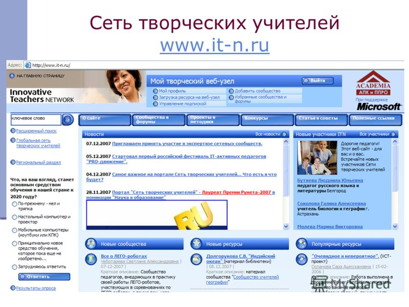13 Сеть творческих учителей www.it-n.ru www.it-n.ru