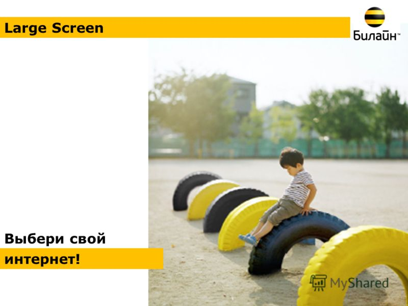 Выбери свой интернет! Large Screen