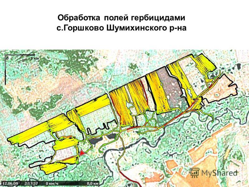 Обработка полей гербицидами с.Горшково Шумихинского р-на