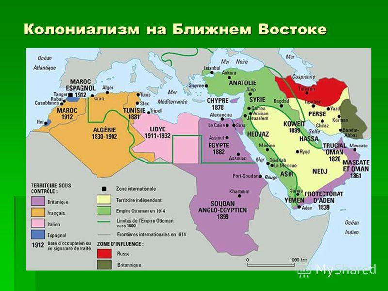 Колониализм на Ближнем Востоке
