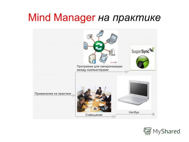 Mind Manager на практике