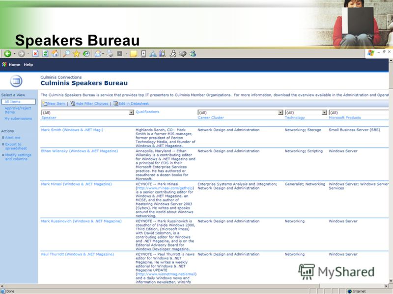 42 Speakers Bureau