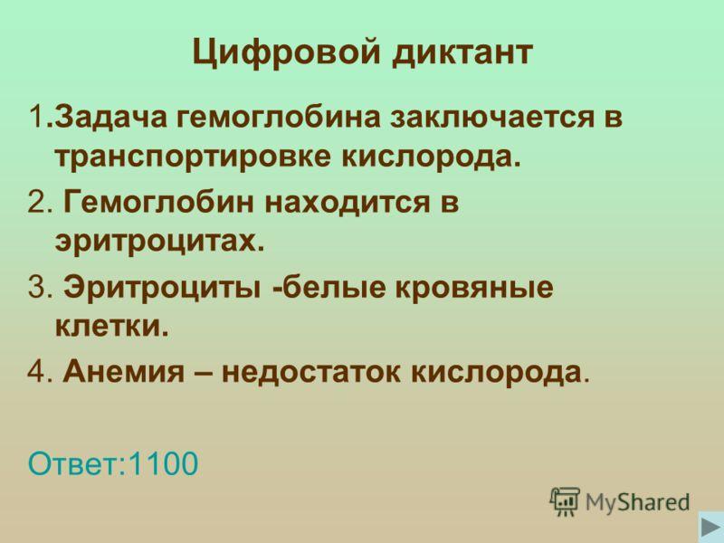 Тульская Настя (гемоглобин)
